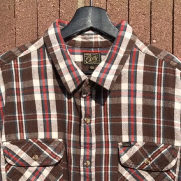 Obey Other - Obey Long Sleeve Flannel